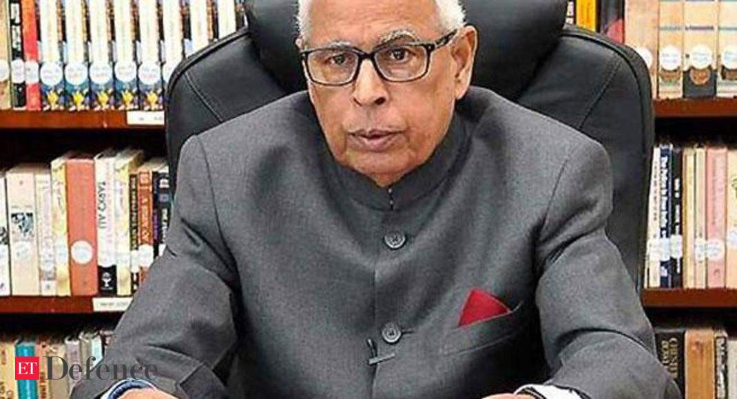 J-K Governor NN Vohra Calls All-Party Meeting Tomorrow