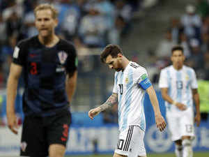Catastrophe! Argentina press wails at World Cup 'disaster'