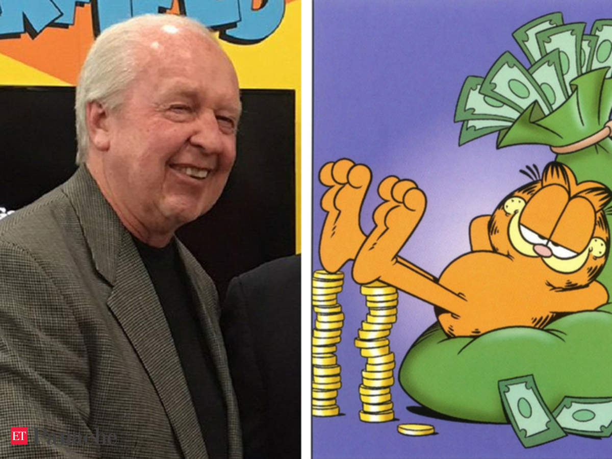 40 Years Of Garfield Garfield Turns 40 Lazy Grouchy Cat Is Worth 800 Mn And Founder Jim Davis Loves It The Economic Times