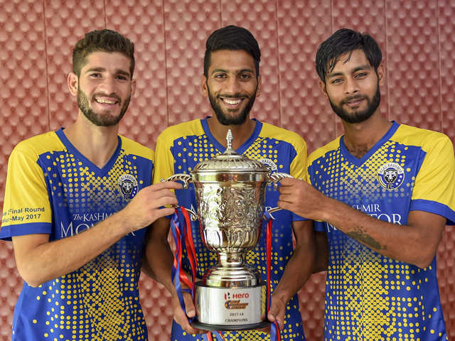Real Kashmir, first from the Valley, makes it to I-League top division