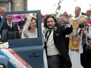 Inside 'Game of Thrones' stars Kit Harington, Rose Leslie's gorgeous wedding