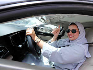 Watch: Women 'steering' their way as Saudi Arabia lifts ban on female driving