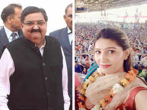 Sapna Choudhary to campaign for Congress: BJP MP calls her 'thumkewali'