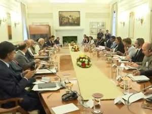 Watch: Seychelles President Danny Faure, PM Modi hold delegation level talks