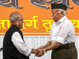 RSS claims 4-fold rise in online applications to join RSS on day of Pranab's speech