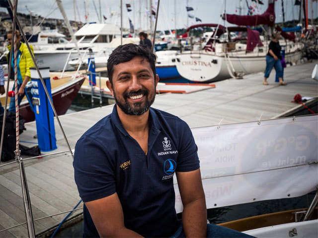 Navy Officer Abhilash Tomy to circumnavigate globe