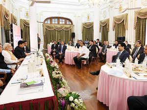 Mumbai: PM Modi interacts with top honchos of India Inc, seeks feedback