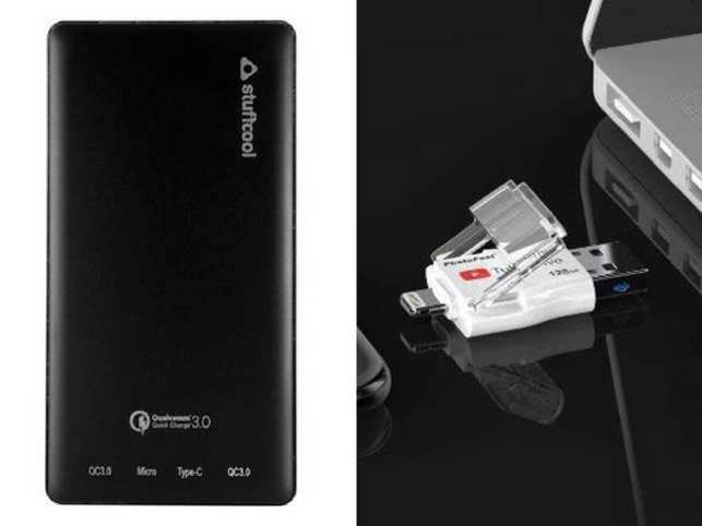 Gifts for the tech obsessed: Stuffcool Powerbank and Photofast TubeDrive make data storage simpler