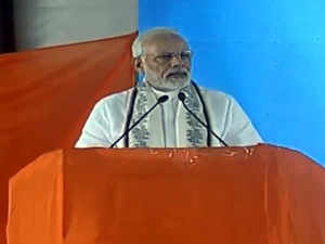 Emergency imposers and opposers are now together for power: PM Modi