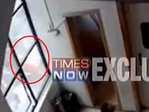 CCTV footage of Ghatkopar plane crash