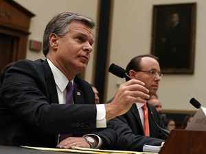 US House Republicans grill Deputy AG Rosenstein, FBI chief Wray on Russia probe