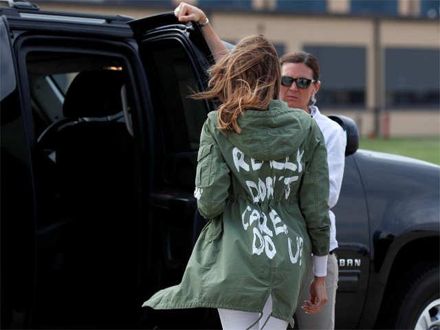 Dr D's column: How Melania Trump managed to de-value Zara