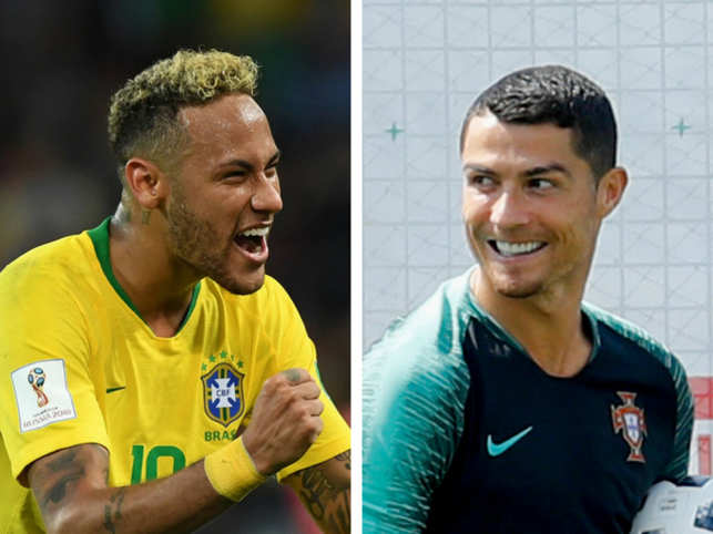 Neymar Jr most-talked about player on Twitter, but Christiano Ronaldo is India's favourite