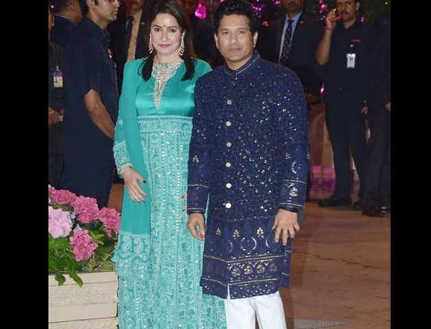 Nita, Isha Ambani Dazzle At Akash-Shloka's Engagement; Tendulkar, B-Town In Attendance