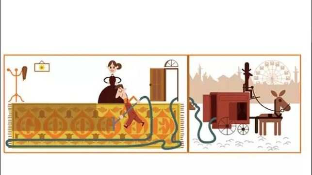 Hubert Cecil Booth: Google honours the inventor of vacuum cleaner with a doodle