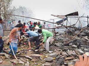 Telangana: 10 killed, 2 injured in blaze at firecracker unit in Warangal