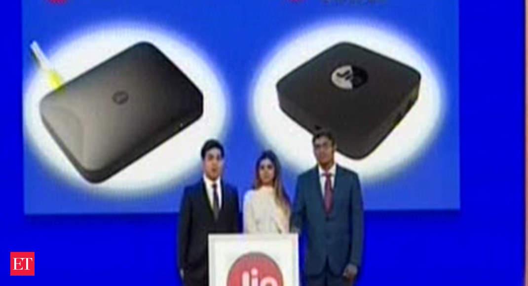 Jio Giga Fiber broadband will come with a set top box for TV