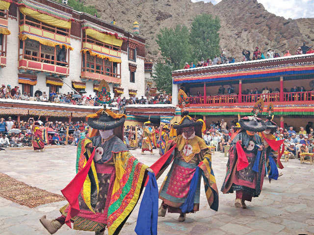 Celebrations galore: A look at two-day Hemis Festival in Ladakh