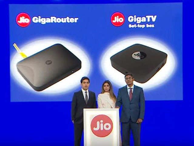 Image result for reliance jio giga fiber