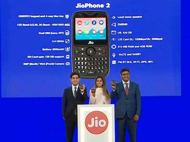 Jio Phone 2 Features: Jio Phone 2 at Rs 2,999: Jio Phone 2 announced