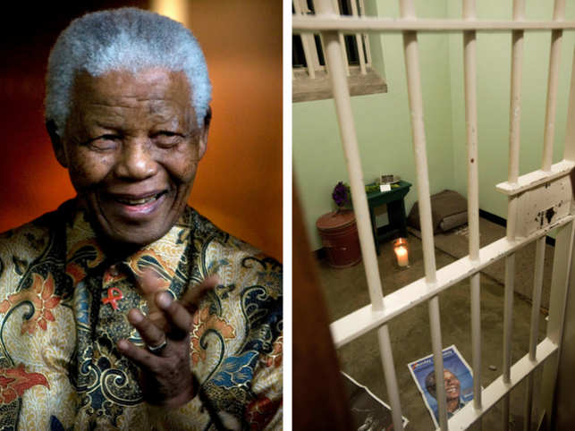 Anger over charity auction of night in Mandela's cell