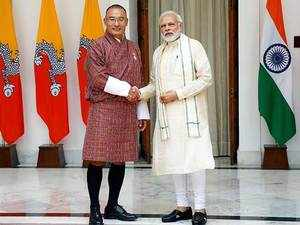 Watch: PM Modi meets his Bhutanese counterpart Tshering Tobgay