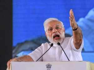 PM Modi takes aim at 'out-on-bail' Congress leaders, says party is now being called 'bail gaadi'