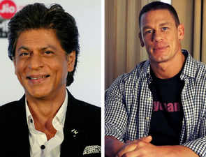 Shah Rukh Khan and John Cena had the most adorable Twitter conversation