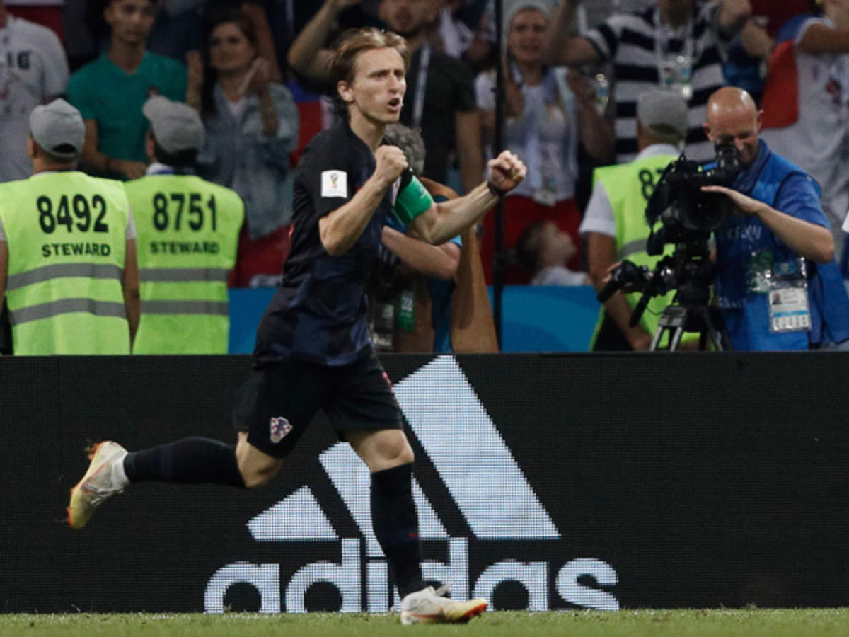 newest 5170d aca85 Luka Modric is leading Croatia in battle after battle at the ...