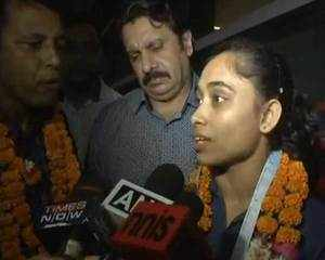 Watch: Dipa Karmakar returns to India after her 'golden win' in Gymnastics World Challenge Cup