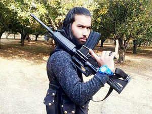 Hizbul Mujahideen puts out pictures of gun-wielding Kashmiri recruits