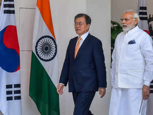 Modi, Moon Jae-in hold bilateral talks