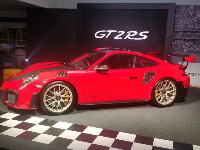 Porsche launches its most-expensive sports car 911 GT2 RS at Rs 3.83 cr