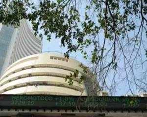 Sensex ends flat, Nifty settles below 10,950