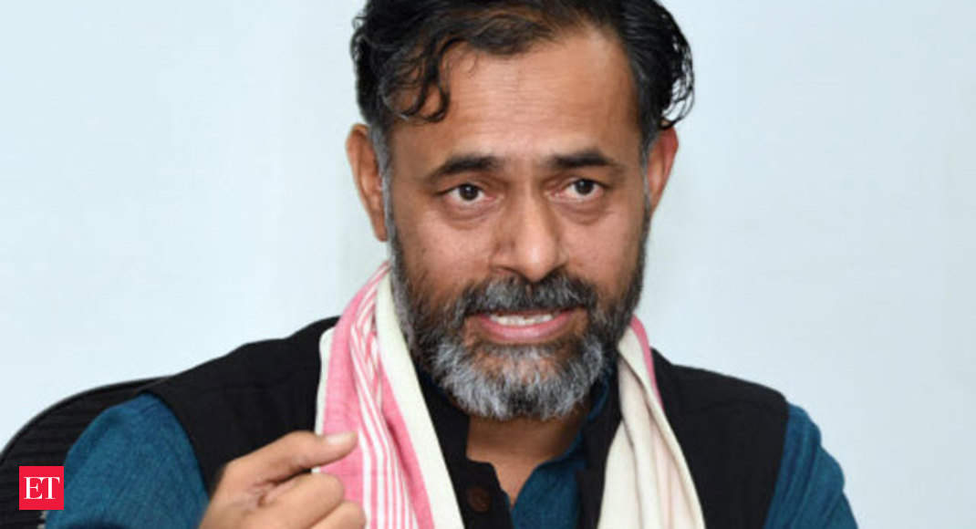 Yogendra Yadav: I-T dept recovers Rs 22 lakh cash during raids at hospital group related to Yogendra Yadav - The Economic Times