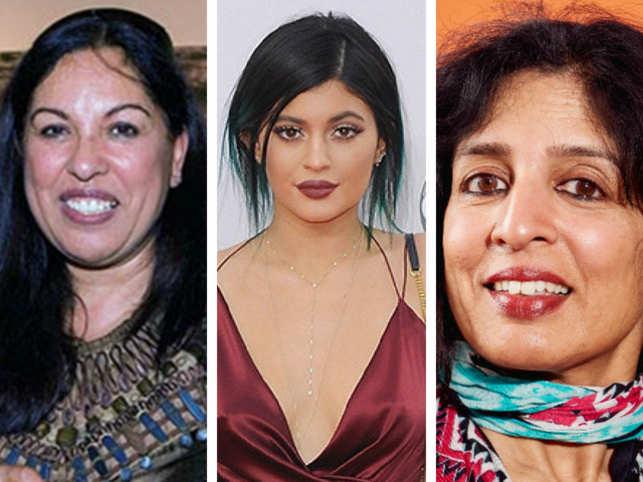 (L-R) Neerja Sethi, Kylie Jenner and Jayshree Ullal