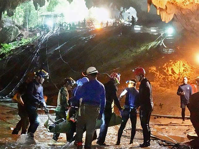 Even as the world watched the daring mission to rescue young footballers trapped in a Thai cave, here are some other brave rescue operations worth a recall.