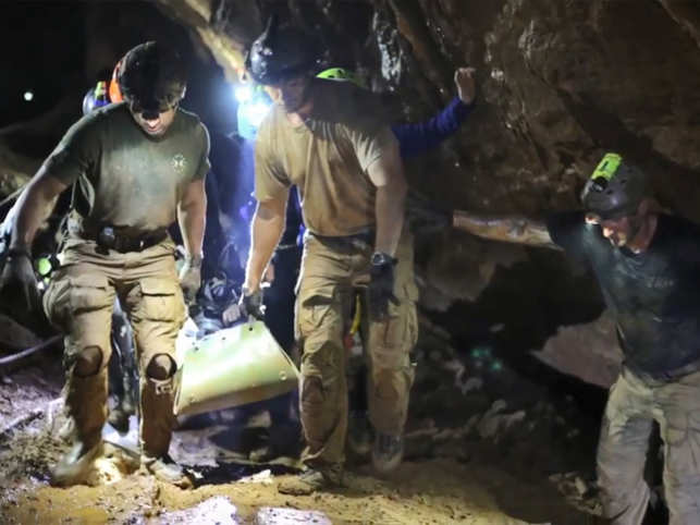 Not just one, 'Thai cave rescue' operation to have two movies