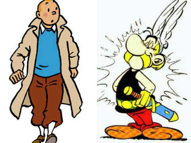 Dr. D's column: Tintin and Asterix's take on Belgium vs France