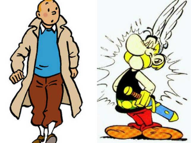 tintin asterix