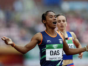Watch: Hima Das creates history for Indian athletics