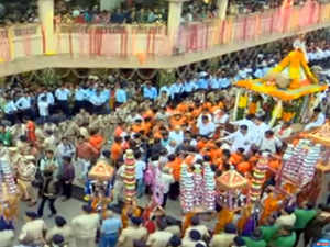 Watch: Devotees throng Ahmedabad as annual Jagannath Rath Yatra begins
