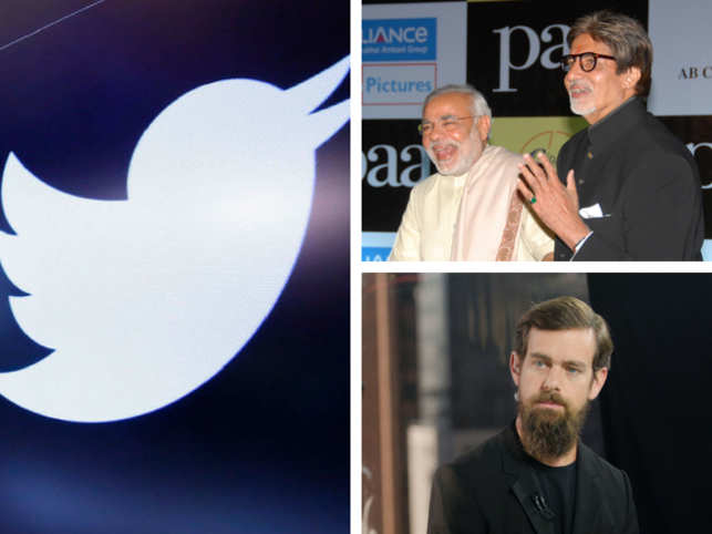 Twitter's recent move of removing millions of suspicious account in its battle against fake new has led to many celebrities, politicians and social media influencers losing followers.   The move didn't spare Twitter's own account either, as the social media's official handle lost about 12 percent of its total followers - about 7.7 million.  In Pic: Clockwise from top right, Narendra Modi, Amitabh Bachchan, and Jack Dorsey were among the numerous accounts who saw a drop in following.