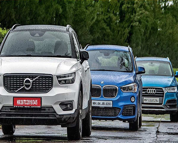 Autocar Show Volvo Xc40 Vs Bmw X1 Vs Audi Q3 Comparison The