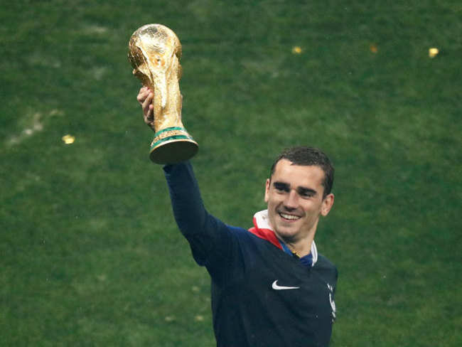Golden Antoine Griezmann delivers on the biggest stage