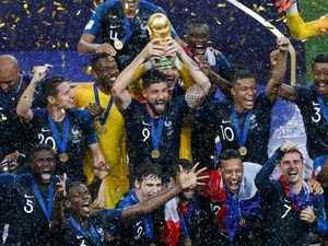 Watch: France lift second World Cup title, beating Croatia 4-2