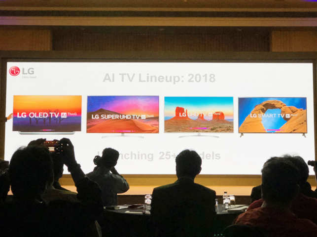 Lg Thinkq Tv Lg Thinkq Tv With Ai Launched At Starting Price Of Rs