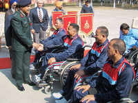 """""""200 armed force personnel becoming disabled every year"""""""
