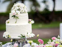 Move over, 'mithai': The cake is now a fixture at traditional weddings