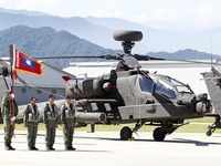 Taiwan's Apache fleet goes into service amid China tensions